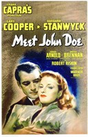 Meet John Doe Wall Poster