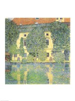 The Schloss Kammer on the Attersee III, 1910 Fine-Art Print