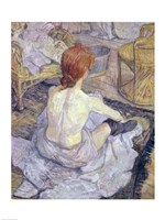 Woman at her Toilet, 1896 Fine-Art Print