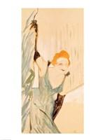 Yvette Guilbert taking a Curtain Call Fine-Art Print