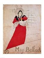 May Belfort, France, 1895 Fine-Art Print
