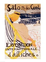 Poster advertising the 'Exposition Internationale d'Affiches', Paris, c.1896 Fine-Art Print