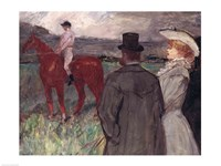 At the Racecourse, 1899 Fine-Art Print