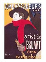 Poster advertising Aristide Bruant Fine-Art Print