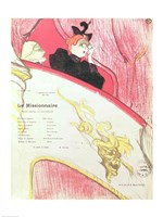 Cover of a programme for 'Le Missionaire' at the Theatre Libre Fine-Art Print