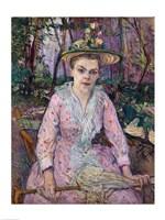 Woman with an Umbrella, 1889 Fine-Art Print