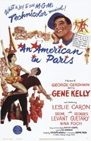 An American in Paris - Musical Wall Poster