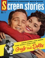 Guys and Dolls Screen Stories Wall Poster