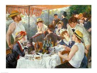 The Luncheon of the Boating Party, 1881 Fine-Art Print