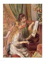 Young Girls at the Piano, 1892 Fine-Art Print