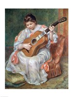 The Guitar Player, 1897 Fine-Art Print