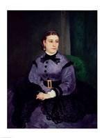 Portrait of Mademoiselle Sicot, 1865 Fine-Art Print