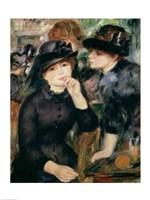 Girls in Black, 1881-82 Fine-Art Print