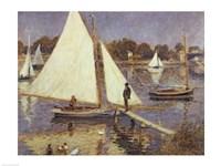 The Seine at Argenteuil, 1874 Fine-Art Print