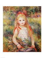 The Little Gleaner, 1888 Fine-Art Print