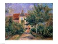 Renoir's house at Essoyes, 1906 Fine-Art Print