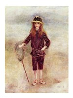 The Little Fisherwoman Fine-Art Print