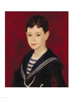 Portrait of Fernand Halphen Fine-Art Print