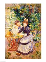 In the Garden, 1885 Fine-Art Print