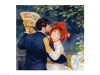 A Dance in the Country, 1883 - upclose Fine-Art Print