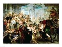 The Rape of the Sabine Women Fine-Art Print