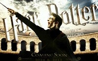 Harry Potter and the Deathly Hallows: Part II - coming soon Fine-Art Print