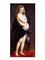 Helena Fourment in a Fur Wrap, 1636-38 Fine-Art Print