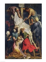 Descent from the Cross, 1617 Fine-Art Print