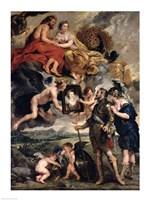 The Medici Cycle: Henri IV Receiving the Portrait of Marie de Medici Fine-Art Print