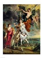 The Medici Cycle: The Triumph of Juliers Fine-Art Print