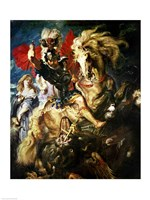 St. George and the Dragon, c.1606 Fine-Art Print