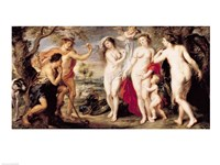 The Judgement of Paris, 1639 Fine-Art Print
