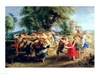 A Peasant Dance Fine-Art Print