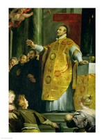 The Vision of St. Ignatius of Loyola Fine-Art Print