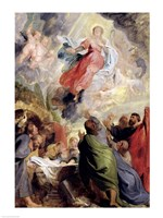 The Assumption of the Virgin Mary Fine-Art Print