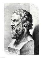 Bust of Plato Fine-Art Print