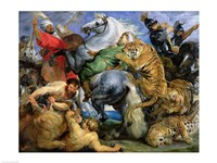 The Tiger Hunt Fine-Art Print