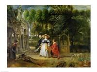 Rubens and Helene Fourment Fine-Art Print