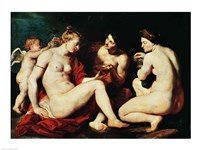 Venus, Cupid, Bacchus and Ceres, 1613 Fine-Art Print