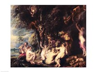 Nymphs and Satyrs Fine-Art Print
