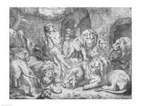 Daniel in the lions' den Fine-Art Print