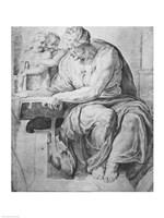The Cumaean Sibyl, after Michangelo Buonarroti Fine-Art Print