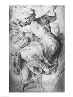 The Libyan Sibyl, after Michangelo Buonarroti Fine-Art Print