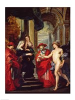 The Medici Cycle: The Treaty of Angouleme 30 April 1619 Fine-Art Print