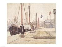La Maria at Honfleur, 1886 Fine-Art Print