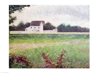 Landscape in the Ile-de-France, 1881-82 Fine-Art Print
