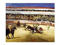 Bull Fight, 1865 Fine-Art Print