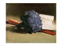 Bouquet of Violets, 1872 Fine-Art Print