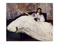 Portrait of Jeanne Duval, 1862 Fine-Art Print