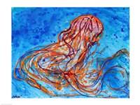 Abstract Jellyfish Fine-Art Print